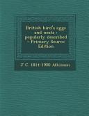 British Bird s Eggs and Nests