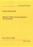 Network Traffic Anomaly Detection and Evaluation Book