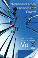 International Trade and Business Law Review