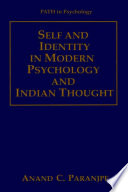"""""""Self and Identity in Modern Psychology and Indian Thought"""" by Anand C. Paranjpe"""