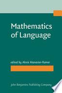 Mathematics of Language PDF
