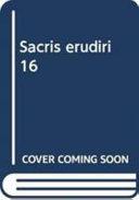 Sacris Erudiri 16