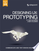 Designing UX: Prototyping