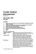 Textile Outlook International Book