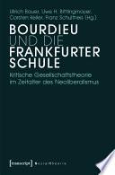 Bourdieu und die Frankfurter Schule