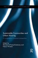 Sustainable Communities and Urban Housing
