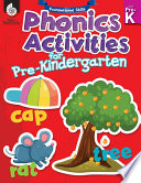 Foundational Skills: Phonics for Pre-Kindergarten