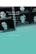 Boys  Girls and Achievement