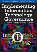 Pdf Implementing Information Technology Governance: Models, Practices and Cases Telecharger