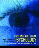 Forensic and Legal Psychology