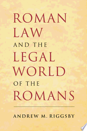 Roman Law and the Legal World of the Romans banner backdrop