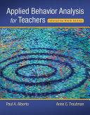 Applied Behavior Analysis for Teachers Interactive Ninth Edition