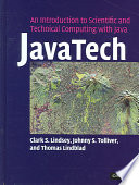 JavaTech  an Introduction to Scientific and Technical Computing with Java Book