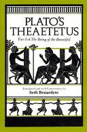 Plato s Theaetetus