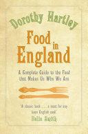 Pdf Food In England