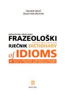 Croatian English Dictionary Of Idioms