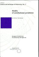Models of Constitutional Jurisdiction