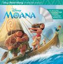 Moana Read Along Storybook   CD