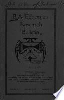 Bia Education Research Bulletin