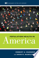 Population Health in America Book