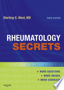 """Rheumatology Secrets E-Book"" by Sterling West"