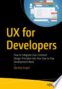 UX for Developers Book