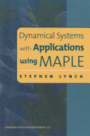 Dynamical Systems with Applications using MAPLE [Pdf/ePub] eBook