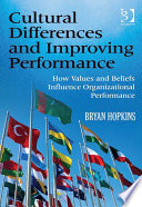 Cultural Differences and Improving Performance Book