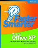 Faster Smarter Microsoft Office XP Book