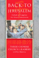 Pdf Back to Jerusalem