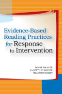 Evidence based Reading Practices for Response to Intervention Book