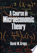 A Course in Microeconomic Theory Book