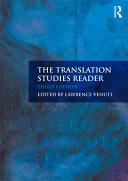 TRANSLATION STUDIES READER