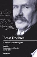 Rezensionen und Kritiken (1915-1923)