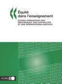 Pdf Équité dans l'enseignement Élèves présentant des déficiences, des difficultés et des désavantages sociaux Telecharger
