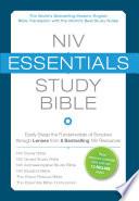 Niv Essentials Study Bible Ebook