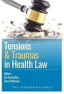 Cover of Tensions and Traumas in Health Law