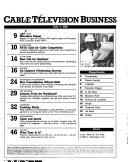 Cable Television Business