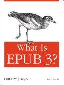What is EPUB 3