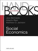 Handbook of Social Economics SET: 1A, 1B ebook