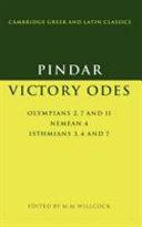 Pindar: Victory Odes