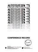 IEEE Autotestcon Proceedings
