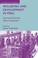 Wellbeing and Development in Peru