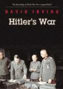 Hitler s War and the War Path