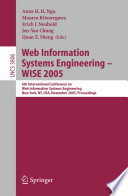 Web Information Systems Engineering   WISE 2005 Book