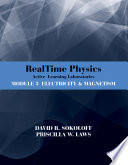 RealTime Physics  Active Learning Laboratories  Module 3
