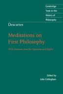 Descartes: Meditations on First Philosophy