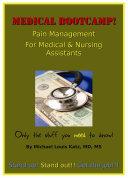 Medical Bootcamp: Pain Management ebook