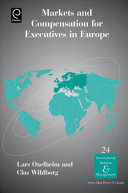 Markets and Compensation for Executives in Europe
