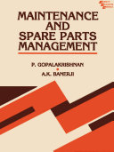 Maintenance and Spare Parts Management